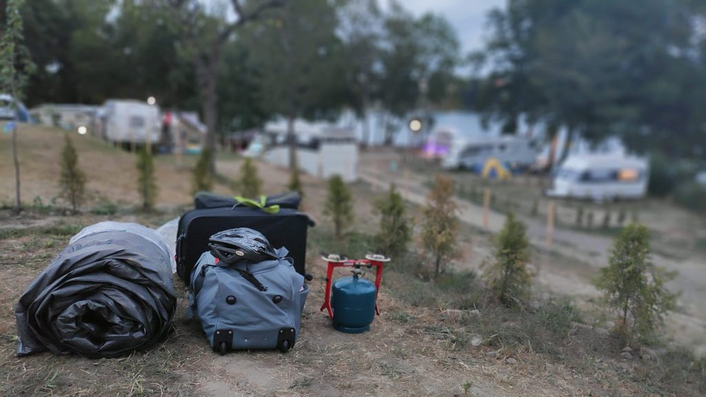 Camper Camping - wyjazd