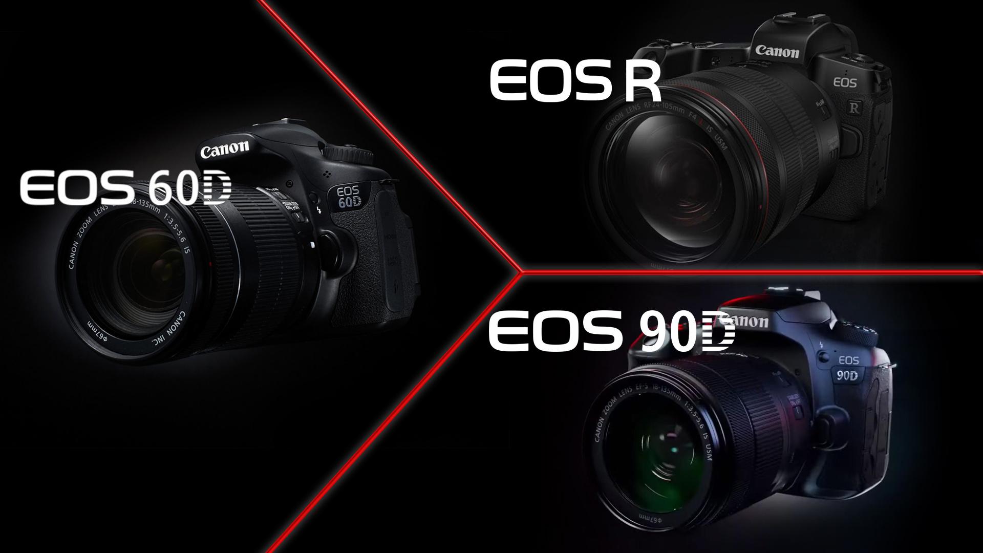 Canon60D > EOS R